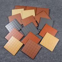 红缸砖 300*300仿古瓷砖 红色小地砖 200*200 露天阳台砖