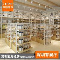 乐品 文具店双面货架 书包展示架 学习用品货架