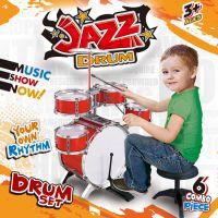 超大儿童玩具架子鼓初学者练习鼓仿真爵士鼓打击乐器男女孩4-8岁