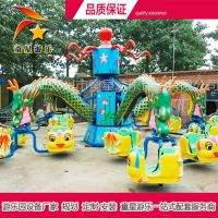 公园新型游乐设备价格童星大章鱼外形可爱