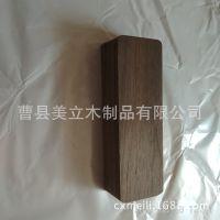 厂家定制迷你型茶叶盒 便携随身茶盒 黑胡桃随身旅行便携式茶叶罐