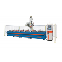 四轴铝型材加工中心 多轴型材加工中心厂家就选信刻数控