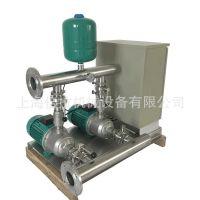 MHI1604一用一备不锈钢双泵变频组WILO威乐恒压变频供水泵2.2KW