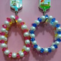 水晶手链 水晶石串珠手链  畅销一元两元批发货源 可做赠品促销
