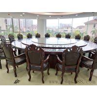 研发生产酒店餐桌椅 电动大圆桌 电动玻璃餐桌 电动大理石餐桌