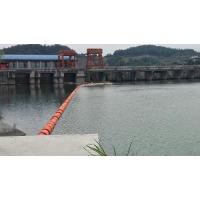 水库浮式拦污漂排拦污与导漂设计方案