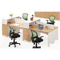使用舒适办公室简明电脑带高柜 屏风职员桌板式办公家具多种颜色时尚