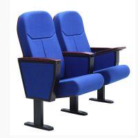 礼堂椅剧院椅影院椅排椅学术报告厅座椅培训椅阶梯教室排椅创鸿成8601木板椅