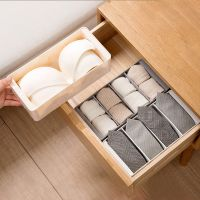 装袜子收纳盒家用塑料抽屉式放内衣内裤的收纳盒子分格内裤收纳盒