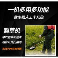 广州开荒打草机 润众四冲程割灌打草机 锄地除草机厂家
