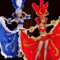 大气开场舞大摆裙现代舞蹈服装演出服性感舞台装团体表演服舞台服