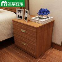 板式家具M08床头柜简约现代卧室家具工厂直销