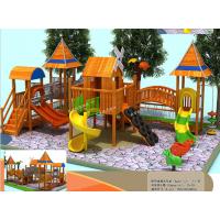 幼儿园木质滑梯组合滑梯儿童景区游乐设备广场小区公园可加工定做