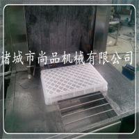自动去水烘干洗筐机 蒸汽加热三段式水循环洗箱机 周转筐清洗机
