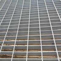 多种规格钢格板 河北热镀锌格栅板 沈阳平台钢格板 沟盖板