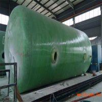 陕西汉中玻璃钢化粪池/预制化粪池