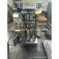 新型商用芝麻压油机 韩式多功能液压香油机 全自动立式液压榨油机