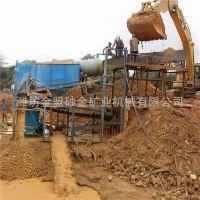 泥土洗砂机滚筒筛沙机 筛分砂金设备照片 沙金选矿设备种类