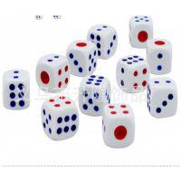 塑料色子筛子股子12mm圆角骰子 麻将游戏棋配件游戏道具用品批发