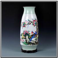 高档陶瓷花瓶 时尚装饰花瓶定制