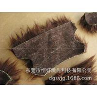 皮料激光切割机 1080小型高速双头皮革激光切割机真皮打孔机