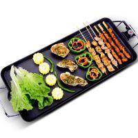 电烧烤炉 无烟烤肉机电烤盘铁板烧烤肉锅韩式家用不粘电烤炉