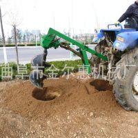 深浅可调的大型挖坑机拖拉机带动的挖坑机图片实惠好效率的挖坑机