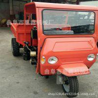 爬坡动力强的柴油三马子 优质建筑柴油三轮车 高低速爬坡的三轮车