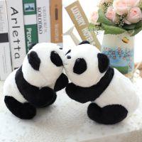 多美惠玩具 可爱仿真熊猫毛绒娃娃儿童女生节日礼物来样定制