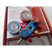 批发空调维修工具-加氟表,鸿森加氟表R134a加氟表