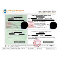 青岛驾照翻译,青岛驾驶证翻译,青岛驾照换证翻译