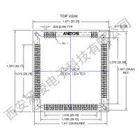 fairchild CIS1910配套插座ANDON插座681-120101A-SM-G10-L14