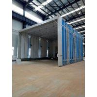 中亚牌大型移动伸缩式喷漆房-适合大型工件的喷涂 质优价低