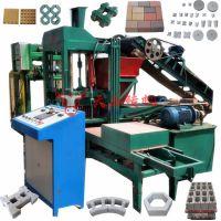 风化石水泥砖制砖机 QTY3-15水泥支撑垫块机 梅花马镫砖机