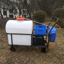 供应新品自动卷管喷药机 蓄电池推车打药机 105L消毒喷洒机