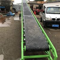 折叠式随车装粮输送机 PVC不锈钢定制皮带机