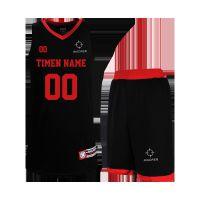 篮球服字号男学生大码透气定制比赛队运动球衣DIY印套装