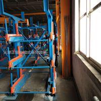 珠海伸缩式悬臂货架价格 放管材的货架 存取机械操作