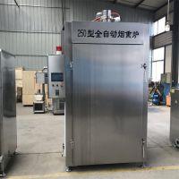 益众烟熏肉制品生产工艺流程 烟熏炉设备 肉制品烟熏炉