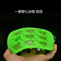 硅胶冰格丘比特冰格 食品级硅胶心形冰格 创意硅胶冰块 巧克力模