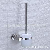 304不锈钢马桶刷架子卫生间厕刷套装浴室五金挂件马桶杯
