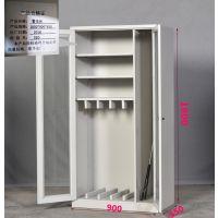 幼儿园防暴器材柜反恐应急器械柜单警保安装备柜学校防爆盾牌柜子