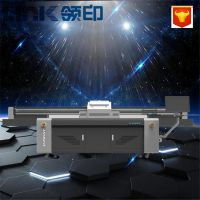 广州大型理光工业喷头平板打印机厂家 衣柜门板图案uv彩绘机