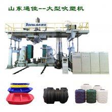 通佳吹塑机设备怎么选,优质吹塑机厂家,光伏浮体生产线