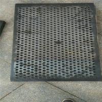 突起圆孔板 化工厂防滑板定制 德州市锯齿形防滑板