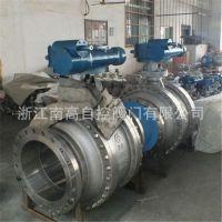 涡轮 Q347H-16C DN500 铸钢固定式硬密封球阀