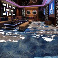 郑州现代波浪3D高清印花客房地毯 定制酒店客房地毯