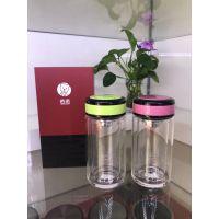 西安希诺女士玻璃杯代理批发价格 彩色迷你水杯刻字印字