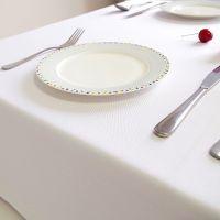 桌布布艺纯白色餐桌茶几酒店西餐会议台布长方形圆桌桌垫拍照背景