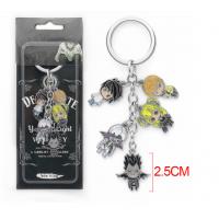 新品卡通死亡笔记钥匙扣 Death Note钥匙圈包包挂件创意小礼品